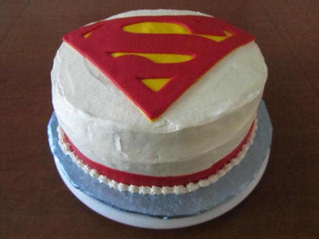 Torta De Superman