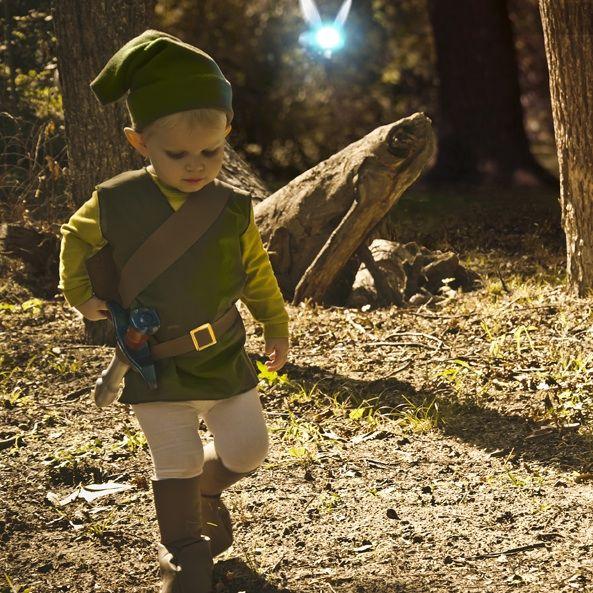 Los Littlest enlace - la leyenda de Zelda traje del cabrito - askix.com