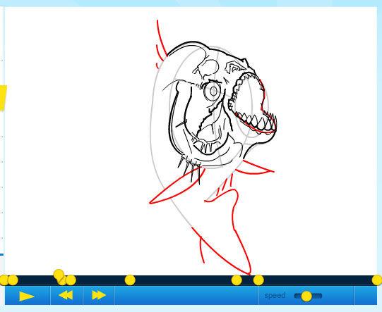 Cómo dibujar una piraña / Paso 1: - askix.com