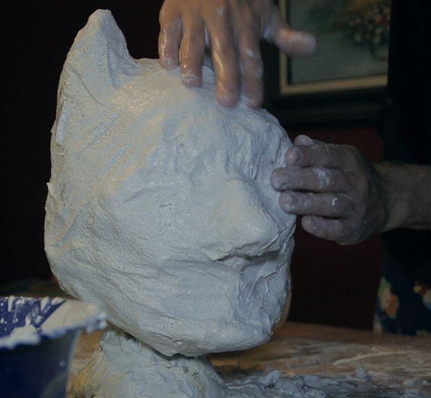Máscara Látex Parte 2 Moldear Esculpir Los Casting Látex