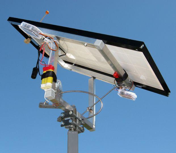 Doble Eje Transistorizada Seguidor Solar Askix Com