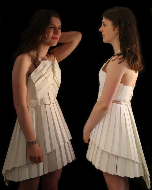 Cómo Hacer Un Vestido De Papel Plisado Askixcom