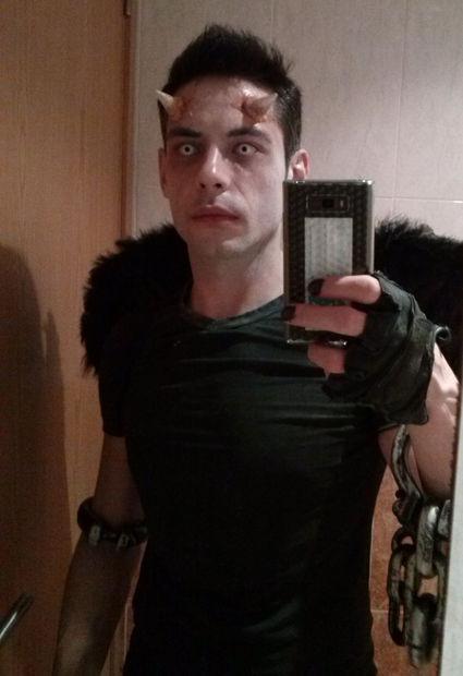 cuernos de diablo halloween maquillaje cuernos de demonio para tu disfraz - Maquillaje Demonio