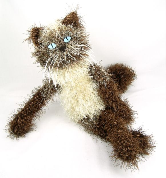 Camille - kitty de ganchillo personalizado - askix.com