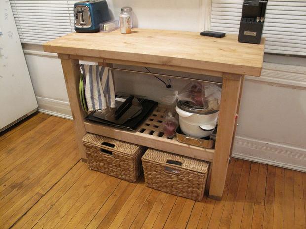 Adición de un cajón a una isla de cocina de ikea   askix.com
