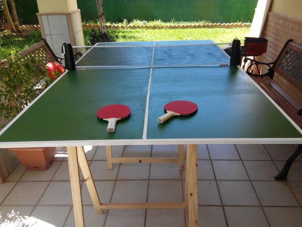 F cil plegable mesa de ping pong for Dimensiones mesa ping pong