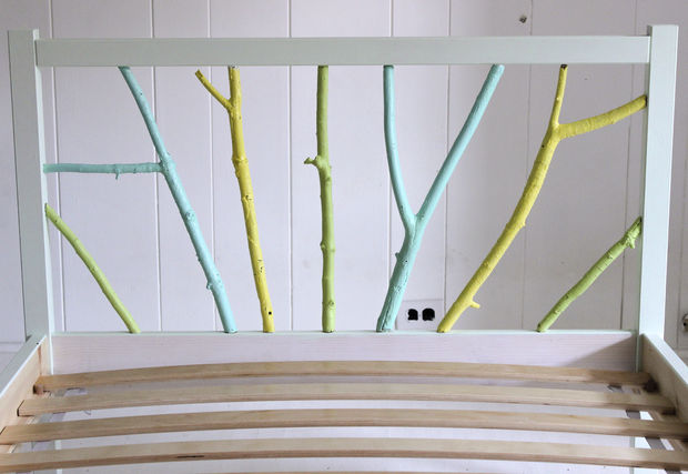IKEA Hack: Pintar marco de cama rama - askix.com