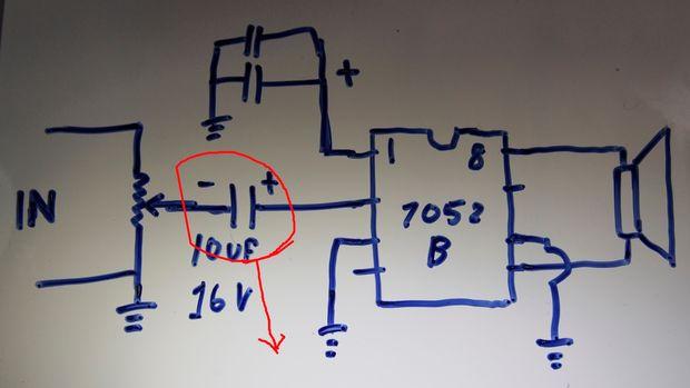 Cómo conectar tda 7052B con control de volumen / Paso 1: No retire ...