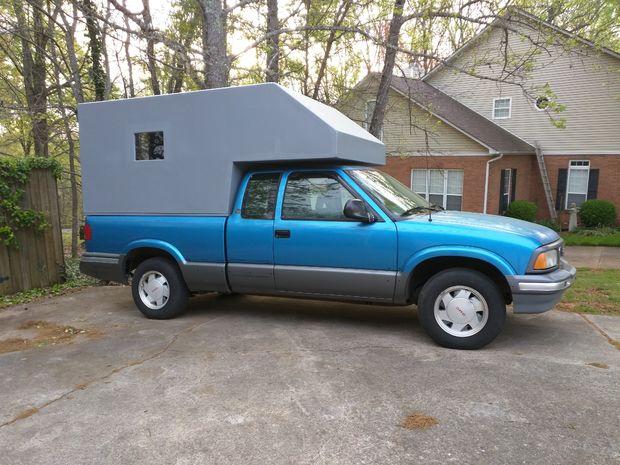 As Que Decid Construir Un Camper Cab Over Para Mi Camioneta En Lugar De