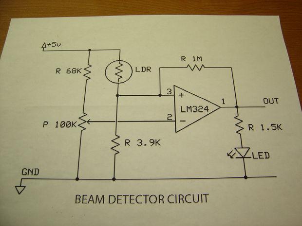 Circuito Zapper : Theremin w zapper láser arduino paso construir circuitos