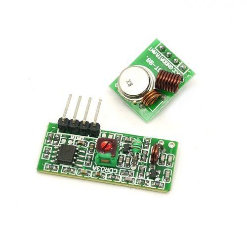 Módulo Transmisor Receptor De Rf 315 433 Mhz Y Arduino