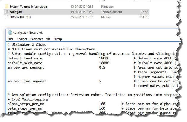 Configuración de MKS como v1 2 32-bit controlador básicos e
