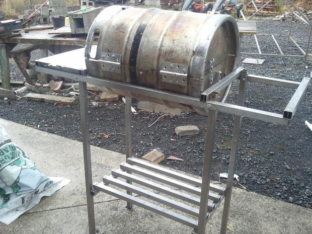 C 243 Mo Hacer Tu Propia Cerveza Barrilete Barbacoa De Barril