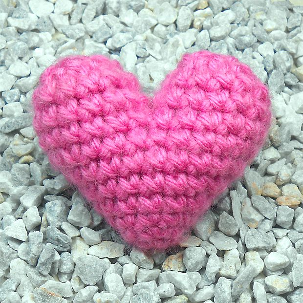 Corazón de Crochet \