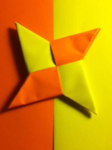 como hacer estrellas ninja de papel origami