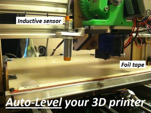 Activar Auto nivelación para su impresora 3D con un sensor