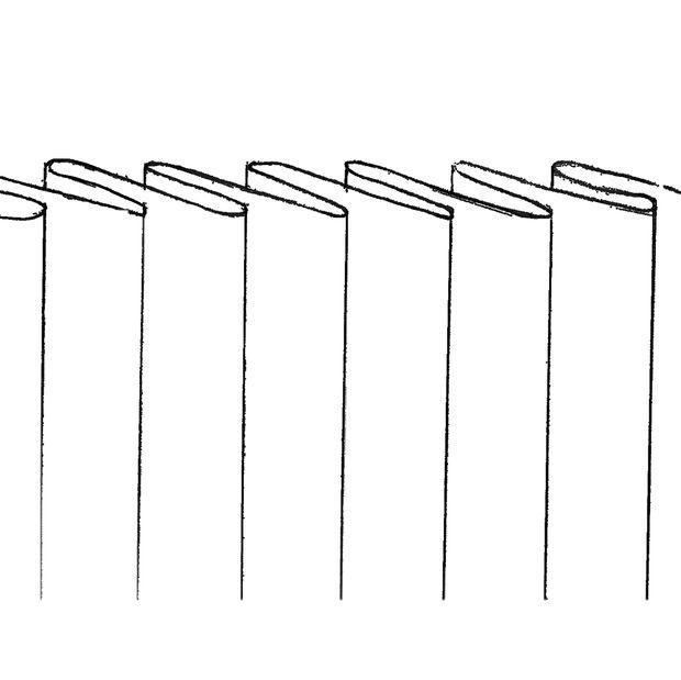 Fácil falda plisada - ningún patrón necesarios / Paso 3: Hacer los ...