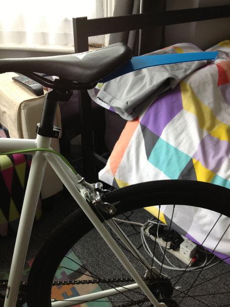 Super ligero Fixie y guardabarros de bicicleta de una velocidad ...
