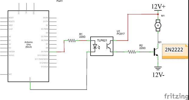 Circuito Optoacoplador : Aislar los circuitos de tu arduino con optoacopladores