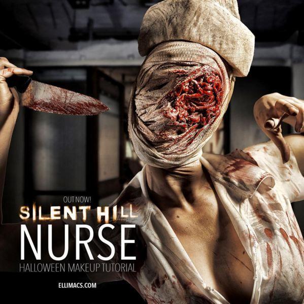 Enfermera de Silent Hill  Tutorial de maquillaje SFX  askixcom