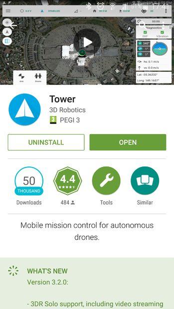Como: Torre de abejón tierra estación aplicación ': parte 1