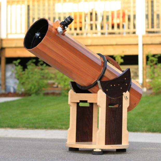 Telescopio madera parte 2: Tubo y montura - askix.com