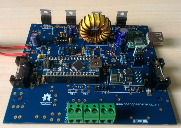 ARDUINO MPPT SOLAR CHARGE CONTROLLER (Version-3.0) - askix.com