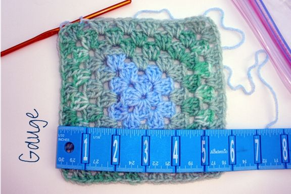 Fácil ganchillo miniatura Granny Square manta / Paso 3: El proyecto ...