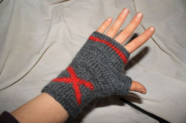 X marcas el punto: guantes sin dedos - askix.com