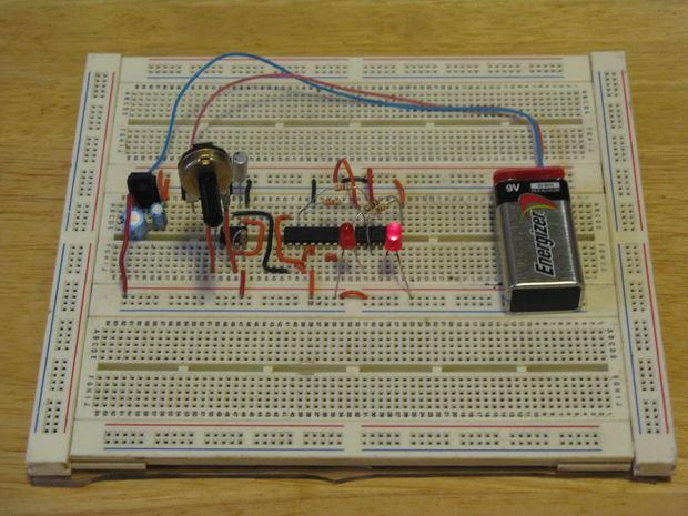 Circuito Luces Led Intermitentes : Luces intermitentes de emergencia paso el acabado