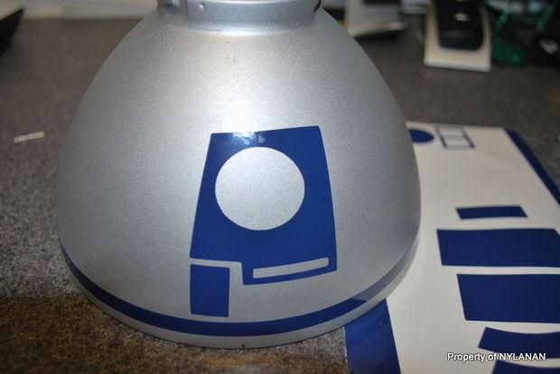 DIY de Paso R2D2 la Lámpara de lámpara IKEA10 4los PXZOiku