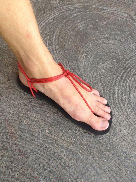 Vibram Huarache corriendo / senderismo sandalias