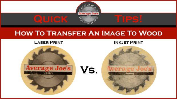 Cómo Transferir Una Imagen A Madera Láser Y De Inyección De Tinta Askix Com