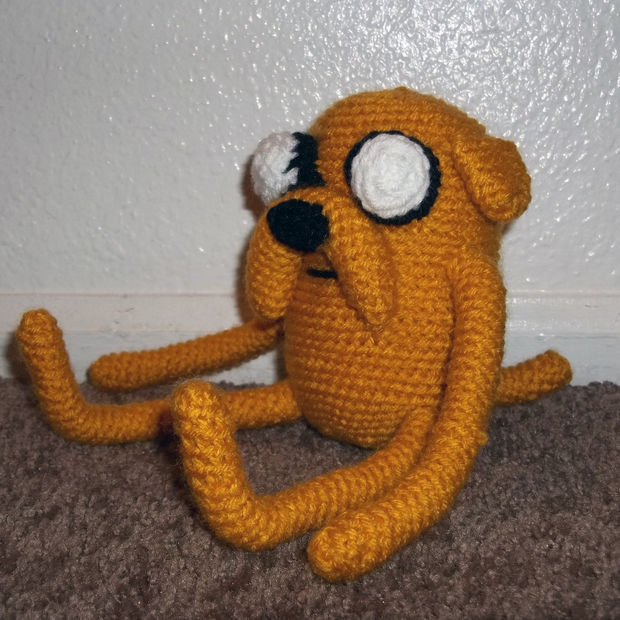 Jake the Dog Amigurumi Pattern PDF - Crochet Pattern | Muñecos de ... | 620x620