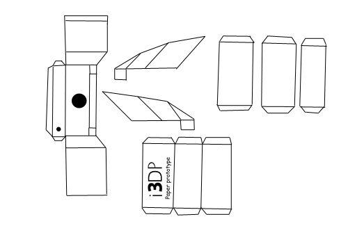 math mini furniture paper patterns pdf