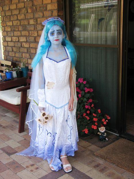 traje de la novia cadáver - askix