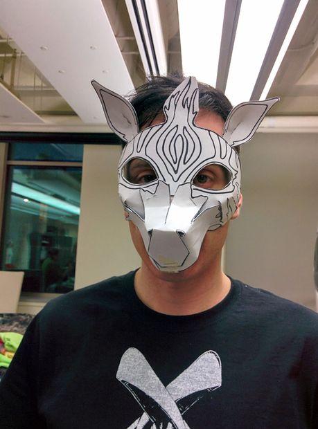 Diseño Y Fabricación De Una Cebra Máscara Con Materiales