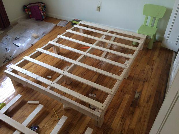 Кровать своими руками материалы 99