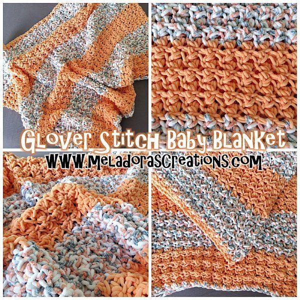 Glover puntada manta – patrón Crochet gratis y tutoriales en vídeo ...