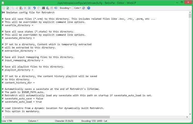 Instalación de RetroPie/EmulationStation en frambuesa Pi 2