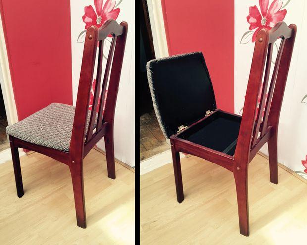 Oculto compartimiento silla - askix.com