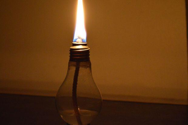 luz aceite de de Cómo bombilla la lámpara una hacer de ucJKF13Tl