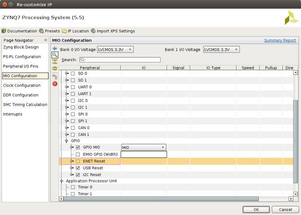 Visualizador LED música con junta de Zybo / Paso 2: Configuración