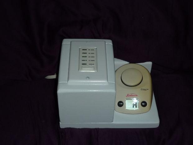 Manta Electrica Con Temporizador.Temporizador De Cuenta Regresiva O El Interruptor De Apagado