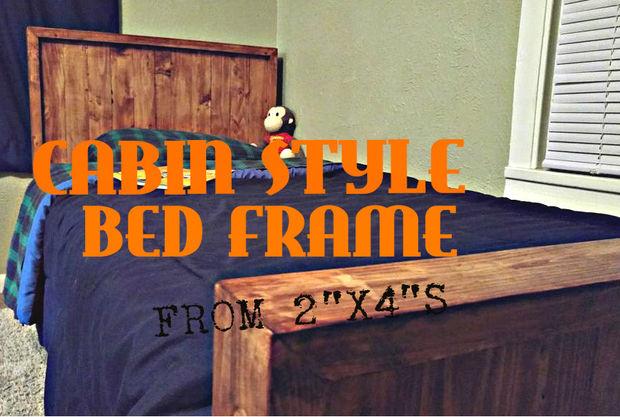 Cabina estilo marco de la cama (de 2 \