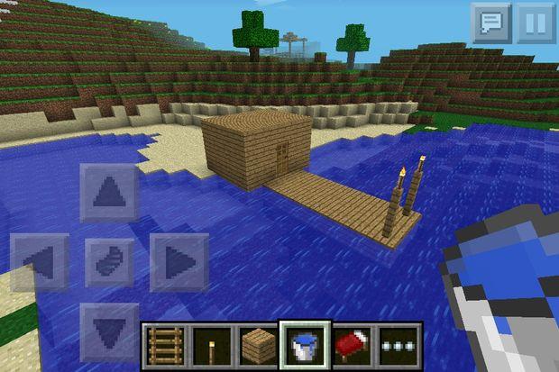 Casa de pesca de minecraft for Como hacer una casa moderna y grande en minecraft 1 5 2
