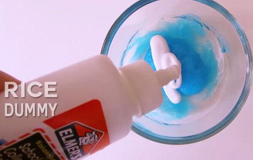 Como Hacer Slime Con Pasta De Dientes Y Cola Paso 3 Paso