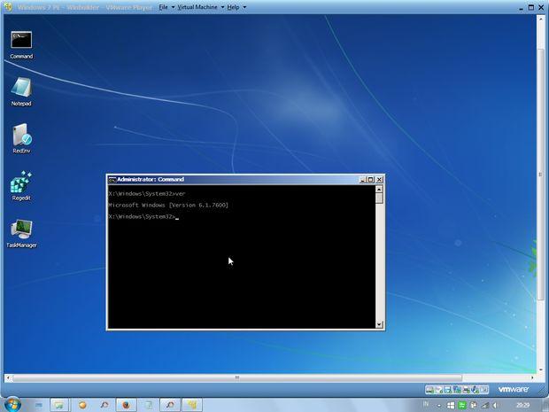 windows pe para windows 7