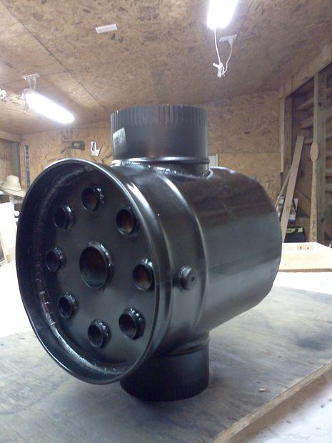 Intercambiador de calor de la estufa de le a - Estufa de calor ...