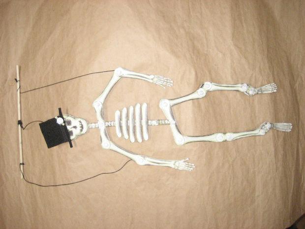 Stix A Huesos Esqueleto Títere Paso 11 Toques Finales Askix Com